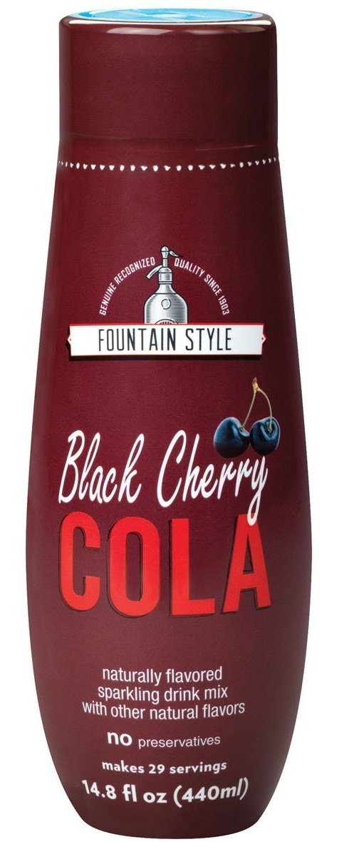 SODAMIX BLK CHERRY COLA by SODASTREAM MfrPartNo 1424228010 by SodaStream Soda Stream Usa