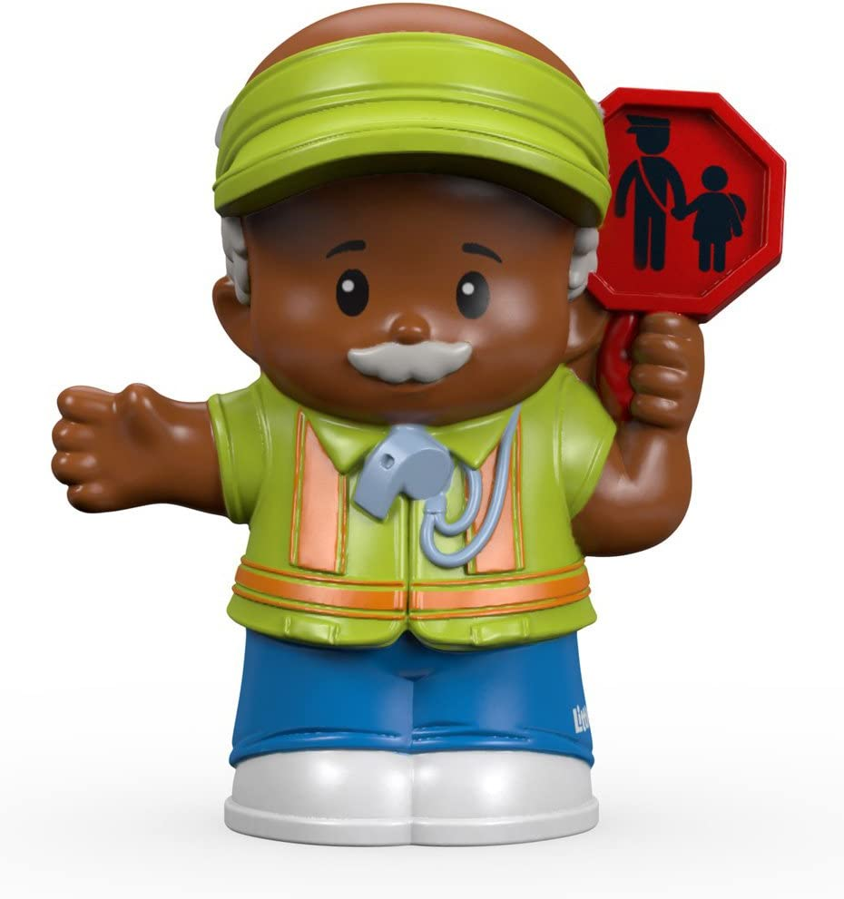 Fisher-Price Little People Crossing Guard William