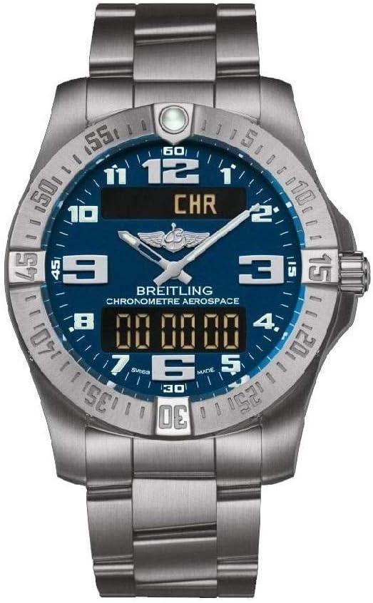 بريتلينج ساعة عملية كاجوال رجال انالوج-رقمي تيتانيوم - E7936310/C869/152E