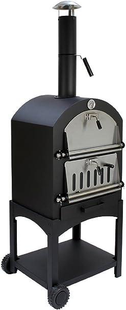 Vintage Gourmet (TM)) - Barbacoa 3 en 1 DE Madera de carbón para ...