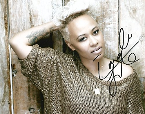 Emeli Sandé SONGWRITER autograph, In-Person signed photo