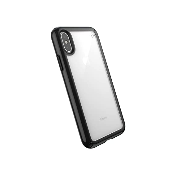 6fd33b010a Image Unavailable. Image not available for. Color: Speck Products Presidio  Show iPhone Xs/iPhone X Case, Clear/Black
