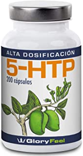5HTP 200 Cápsulas de Alta Dosificación - 5-HTP Vegano - 200mg del extracto Original