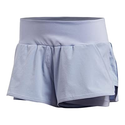 adidas Women`s Advantage Tennis Short Chalk Blue-(CV8972-S18)