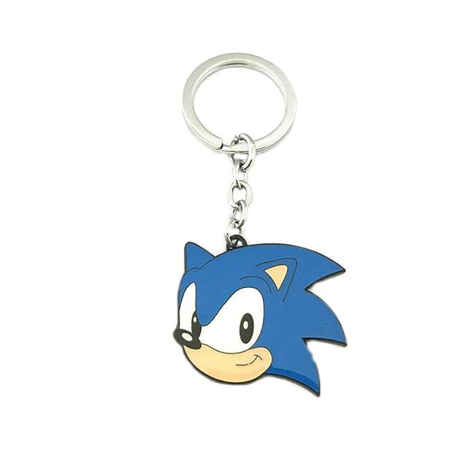 Llavero de Sonic the Hedgehog para videojuegos, televisión ...