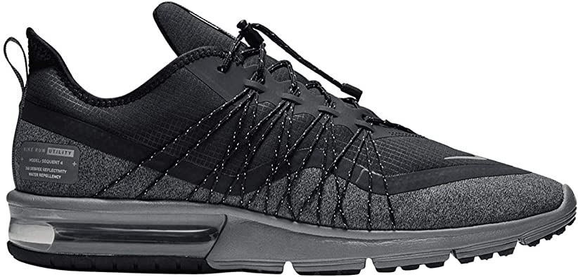 Nike Air Max Sequent 4 Utility Mens Style: AV3236 001 Size: 7.5 BlackMatte Silver