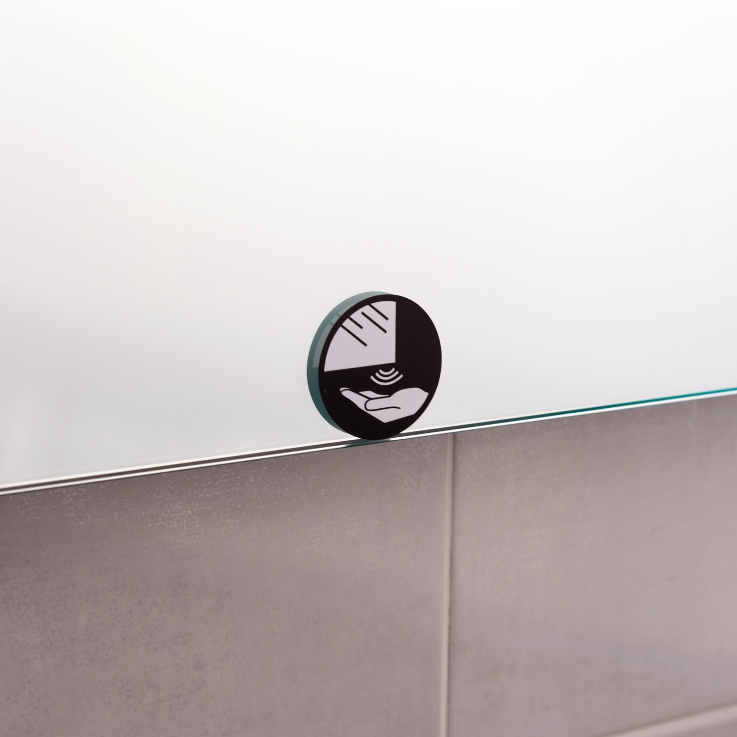 The Bath People Newark LED Mirror with Demister and Infra Red Sensor 650mm x 600mm