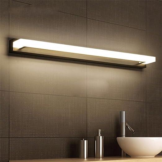 Luz LED frontal de vidrio/vidrio a prueba de agua/espejo que no se