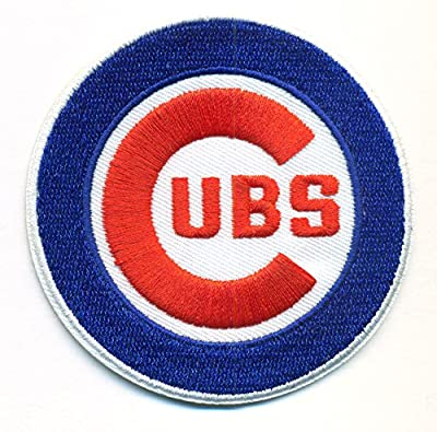 Chicago Cubs Logo Baseball MLB Embroidered Iron On Patch Hat Jersey - 3 inch