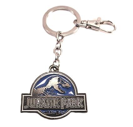 Amazon.com: J&C Jurassic Park - Llavero con caja de regalo ...