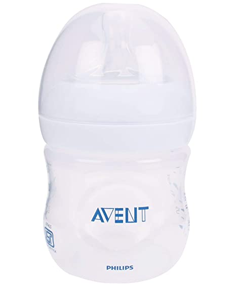 Philips Avent SCF690/17 - Biberón, tetina suave y flexible, anticólicos, PP 0% BPA, 125 ml, color transparente