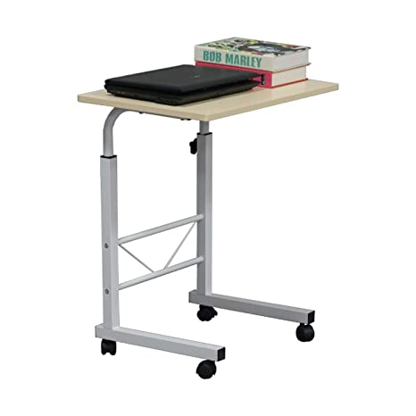 Amazon.com: Sofá mesa auxiliar C mesa portátil soporte de ...