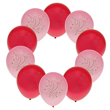 Sharplace 10 Piezas Globos de Látex Diseño con Cumpleaños de ...