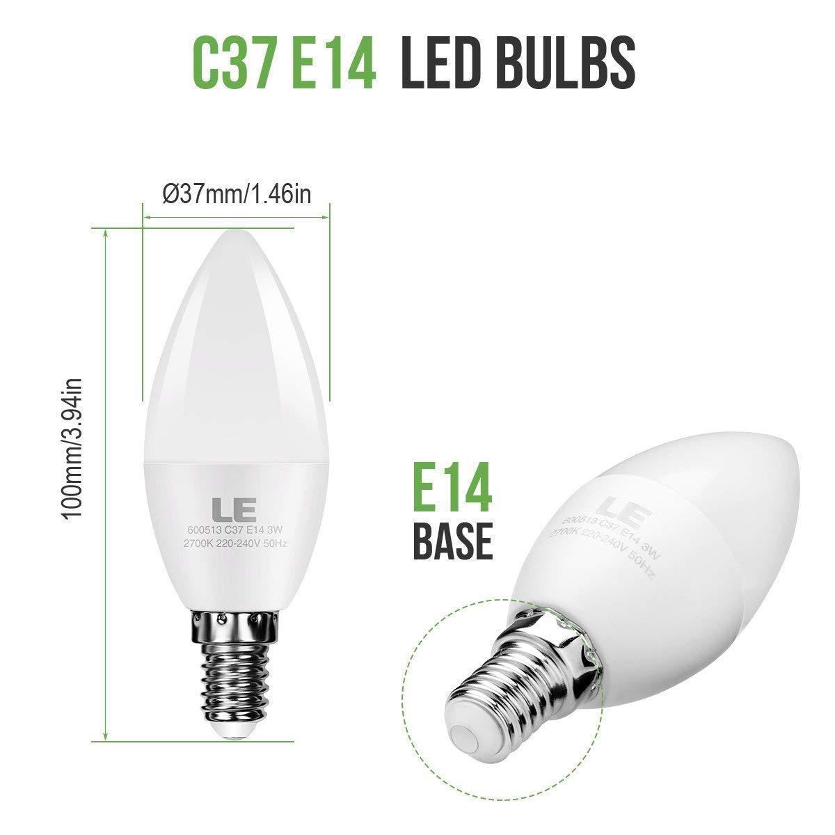 Lámparas luz Led Componentes 10 de Set E27 10er 4 Vatios ZiPkXuOT