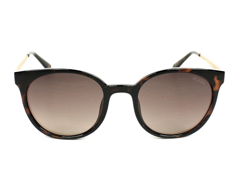 4a5db1fe94eb0b Guess GU7503 52F 52, Montures de lunettes Mixte Adulte, (Avana  Scura Marrone Grad)  Amazon.fr  Vêtements et accessoires