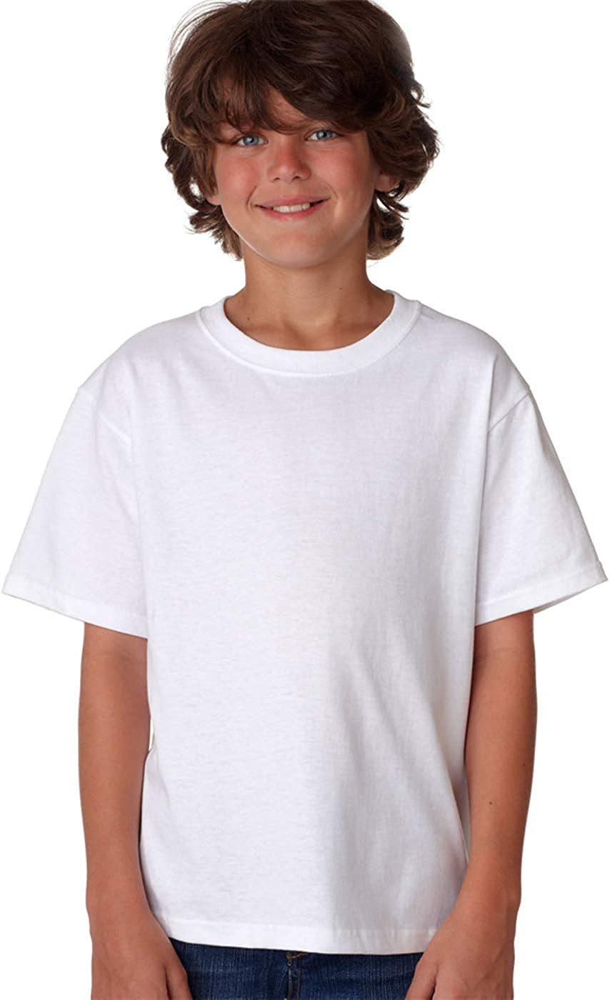 Fruit of the Loom Little Boys Crew Tee Five-Pack