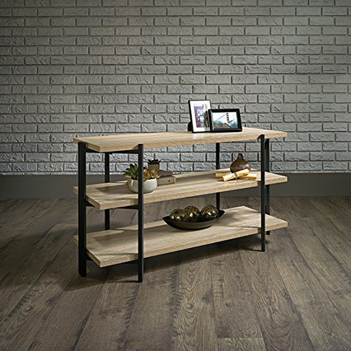 Sauder North Avenue Console Table in Charter Oak by Sauder