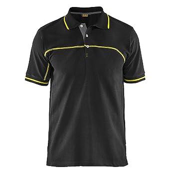 Blakläder 338910509933 X L Polo Shirt Tamaño en Color negro y ...