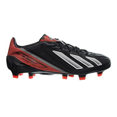 Adidas F50 adizero TRX FG Leather Q33846 Mens Football boots   Soccer  cleats Black 6 UK  Amazon.co.uk  Shoes   Bags 8091ec6ee