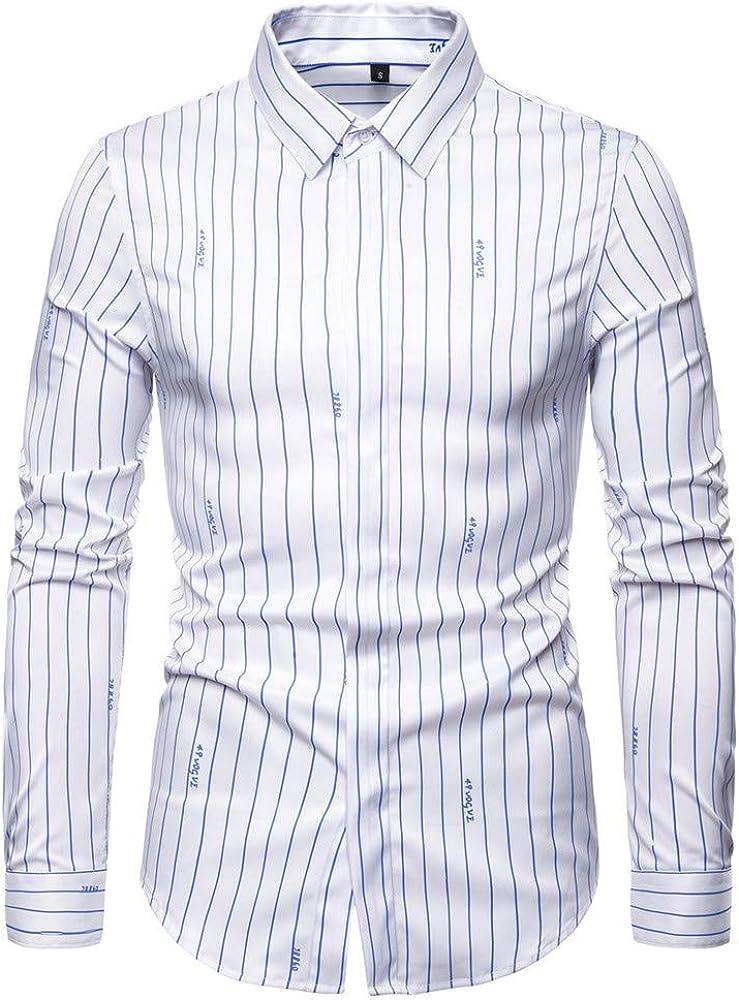 SXZG Camisa de Manga Larga para Hombre Nueva Camisa Elástica de Hombre de Gran Tamaño con Rayas Británicas: Amazon.es: Ropa y accesorios
