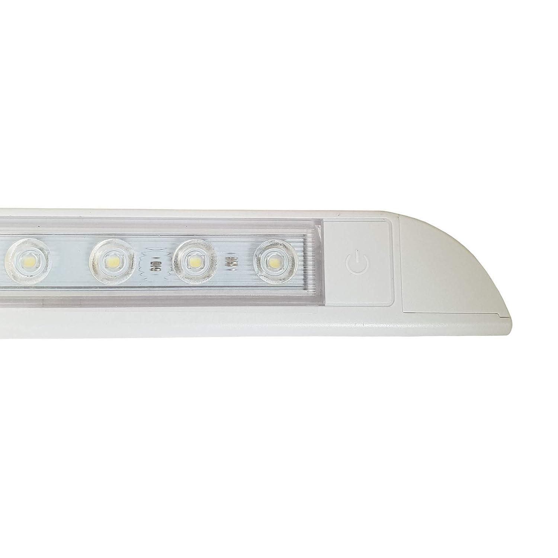 LED Awning Light 12V 24V Warm White Waterproof Long Strip Lamp Caravan Motorhome