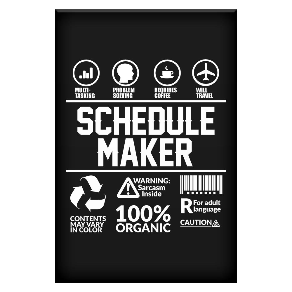 amazon com home of merch sarcasm poster gift for schedule maker