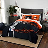 Northwest NOR-1MLB836000026BBB 76 x 86 San Francisco Giants MLB Full Comforter Set, Soft & Cozy
