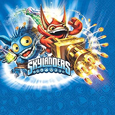Skylanders Luncheon Napkins, Party Favor: Toys & Games