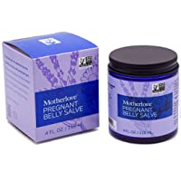 Motherlove Pregnant Belly Salve (4 oz.) Helps Prevent Stretch Marks, Soothes the Itch of Growing Skin - Moisturizing Balm with Organic Herbs for Your Tummy, Cruelty-Free, Natural Cream for Pregnancy