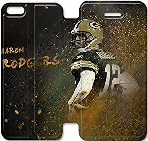 iphone 5C Flip Leather Phone Case Aaron Rodgers TY1OR3230080