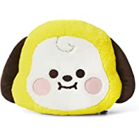 BT21 Baby Series CHIMMY Character Plush Stuffed Animal Cute Face Toy Pillow Room Décor, Yellow