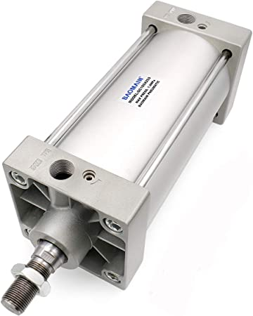 Pneumatic Cylinder Strong Air Cylinder With Double Stainless Steel Actuation