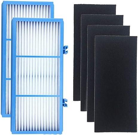 Filtro purificador de Aire de Repuesto para purificadores de Aire Holme-s AER1, purificadores de Aire HEPA Tipo Total y Activado, Elimina el 99,97% de Polvo ...