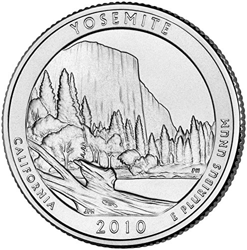 2010 D Yosemite National Park Quarter Choice Uncirculated