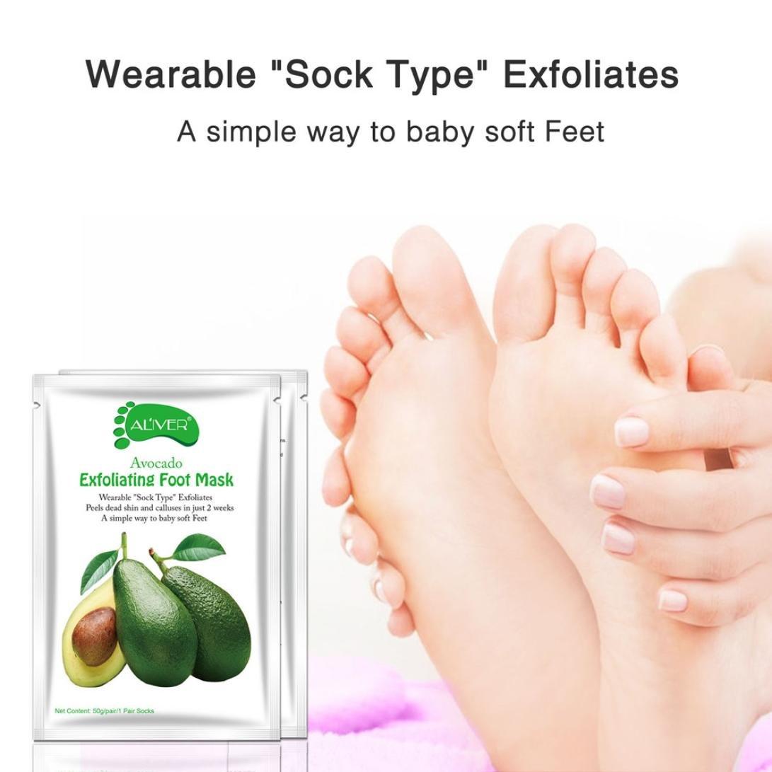 Hautpflege Füße 2 Pc = 1 Pack Baby Fuß Maske Peeling Maske Peeling Maske Für Füße Maske Entfernen Abgestorbene Haut Nagelhaut Ferse Fuß Pflege Socken Für Pediküre Einfach Zu Reparieren