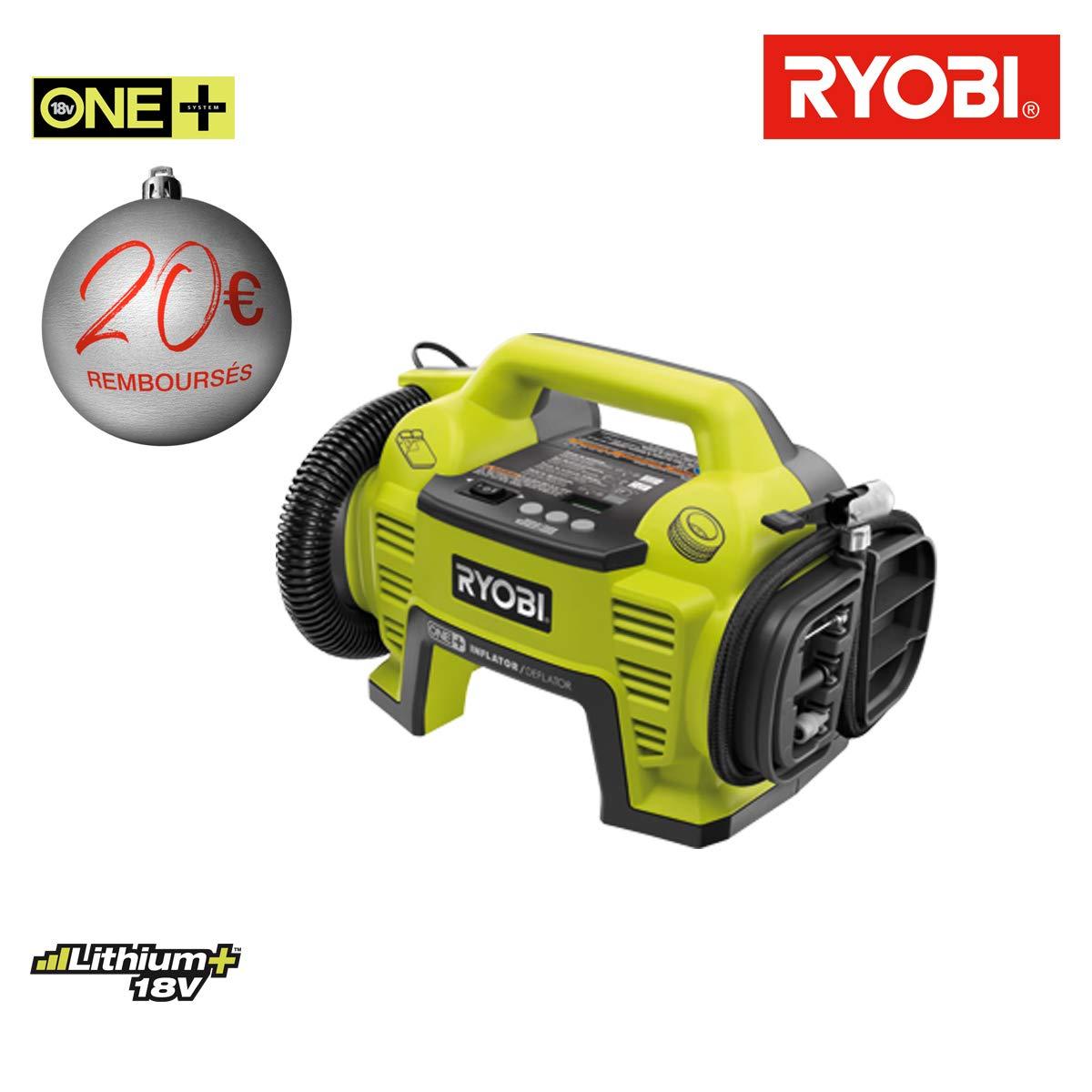 Compresseur RYOBI 18 V 10.3bars OnePlus - sans batterie ni chargeur R18I-0 Ryobi Tools