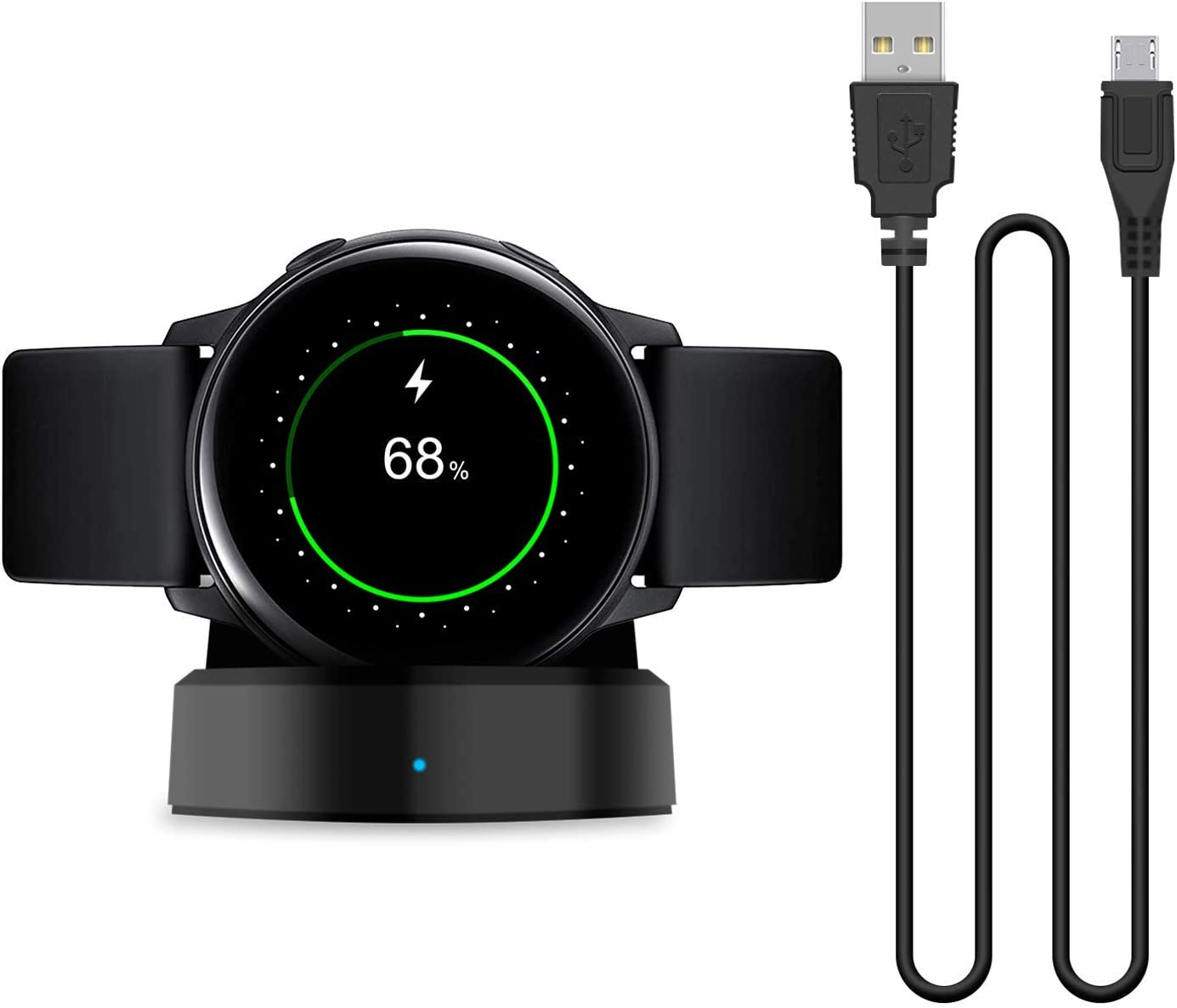 Elecxlink Charger Dock Compatible with Samsung Galaxy Smart Watch Active 2019, Replacement Charging Dock Cradle for Samsung Galaxy Smart Watch Active ...