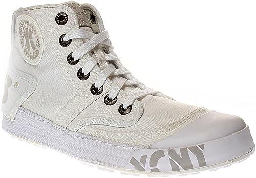 Yellow Cab Ground Damen Sneaker Schnürer Y25153 White