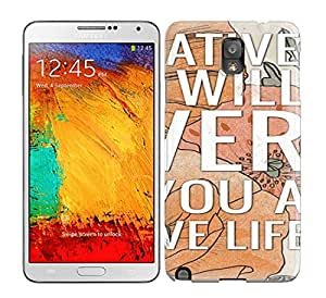 Living Project Case Cover Galaxy Note 3 Protective Case A Positive Life