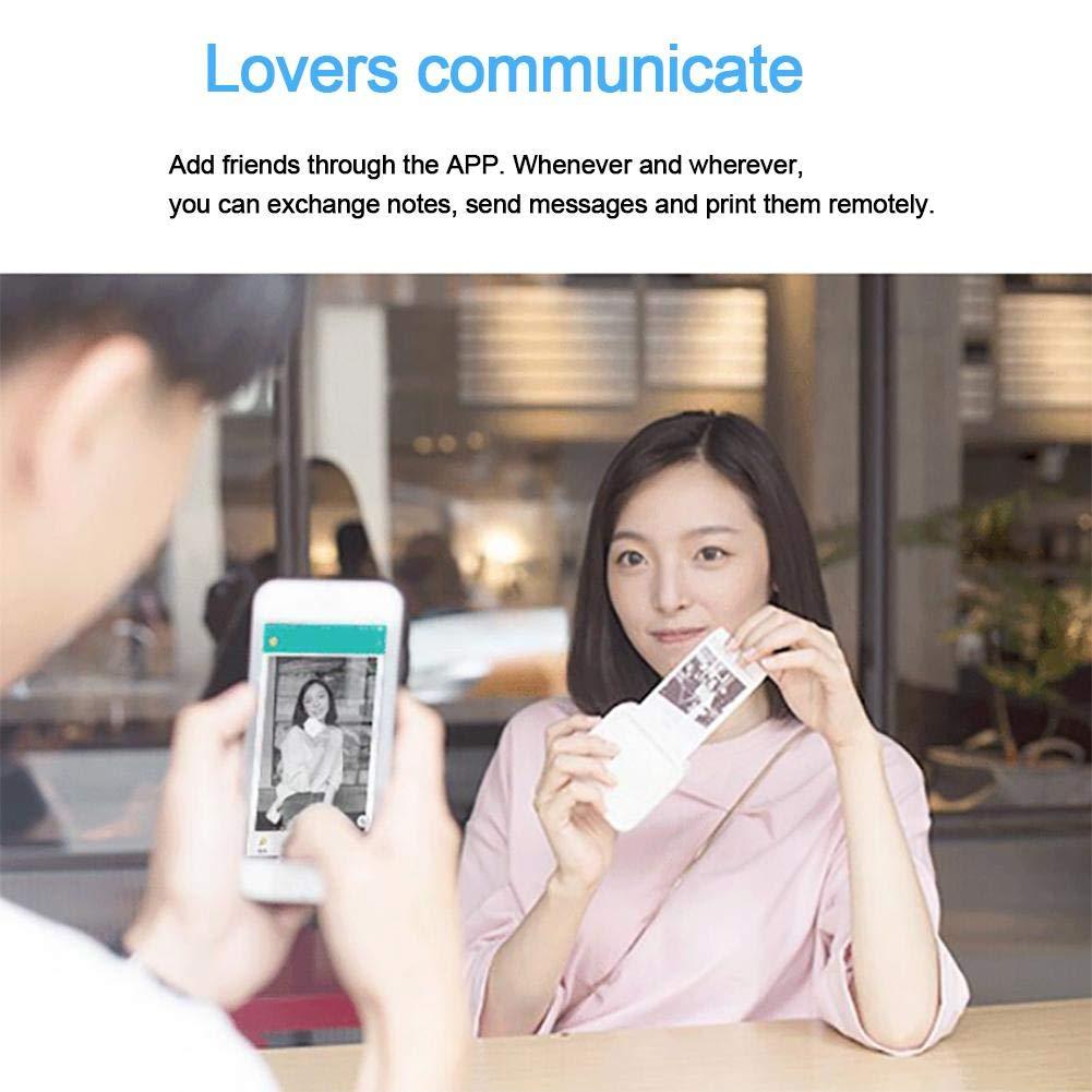 LeKing Stampante termica Cellulare Foto Mini Wi-Fi Stampante portatile wireless