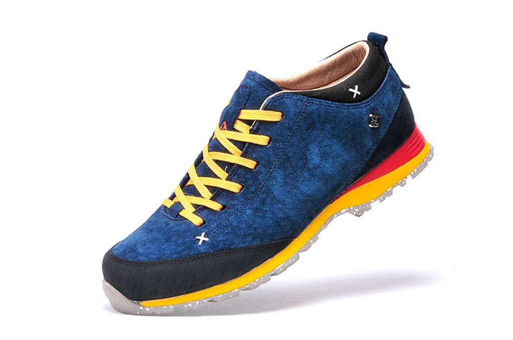 senximaoyi Outdoor hiking shoes antiskid shoes casual shoes wear warm travel camp,Blue,9.5
