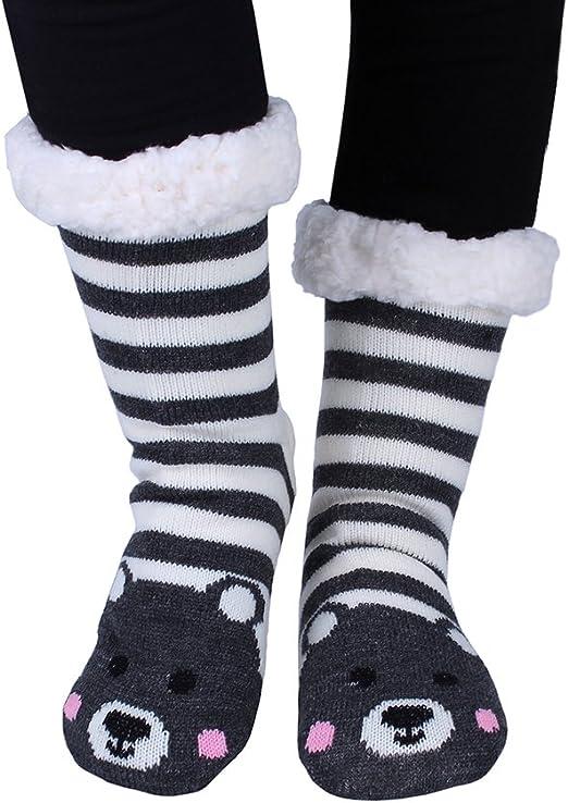 Black Cat Stripe Foot Traffic Women/'s Slipper Crew Socks Non-Skid New Fashion