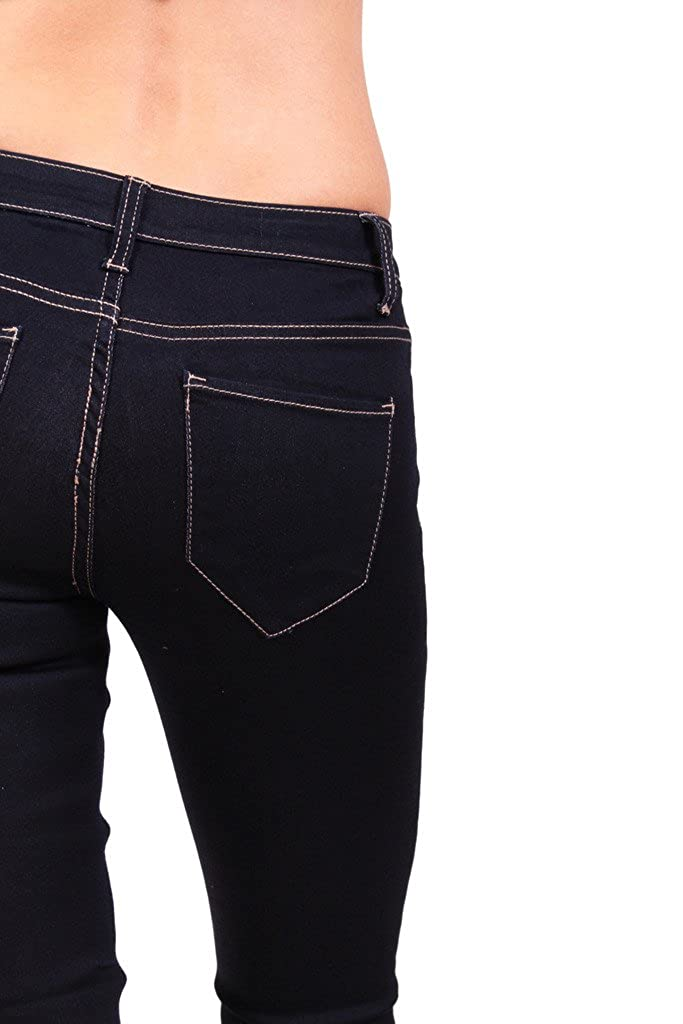 Amazon.com: Cello Jeans mujer Dark índigo baja de ascenso ...
