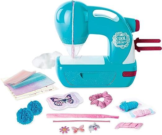 LPing Mini máquina de Coser eléctrica portátil,Juguete de máquina de Coser niña,Adecuada para Principiantes para Hacer artesanías,Juguetes educativos Divertidos: Amazon.es: Hogar