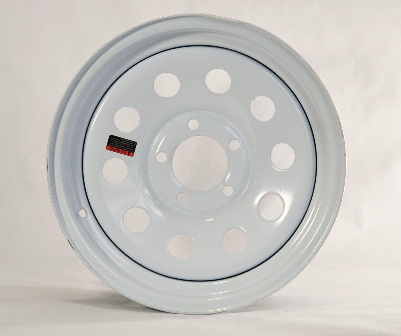 eCustomRim Rim 15X5 J 5-4.5 White Modular E-C 2150# 3.19CB