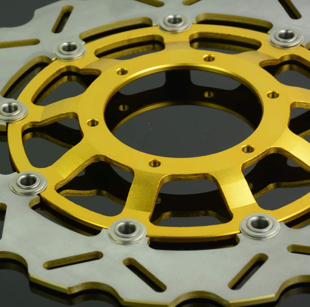 Rotor de frein /à disque flottant en acier inoxydable pour Suzuki GSXR 600 2008-2014 GSXR 750 2008-2014 GSXR 1000 2009-2014