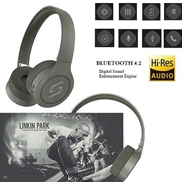 Auriculares Inalámbricos Estéreo Bluetooth 4.1 HiFi,Auriculares Inalámbricos Bluetooth con Almohadillas en La Oreja Ultra Suaves para Un Uso Cómodo ...
