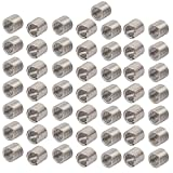 uxcell M4x0.7mmx8mm 304 Stainless Steel Helical Coil Wire Thread Insert 50pcs
