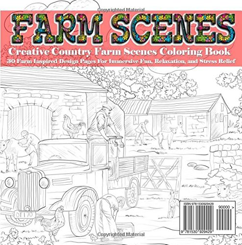 Colorful Country Farm Coloring Pages Gallery