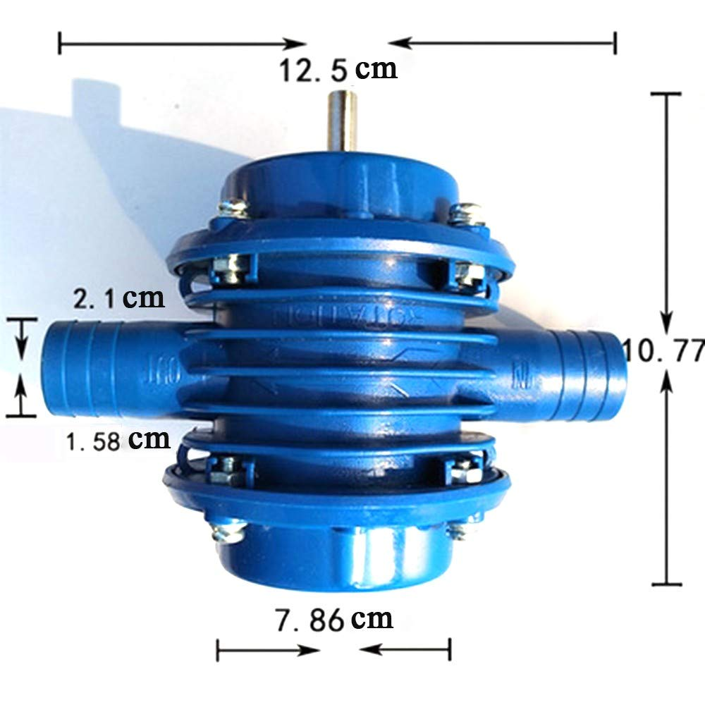 Self-Priming Powered Pump Centrifugal Pump for Home Garden Cleaning Hand Drill Water Pumps